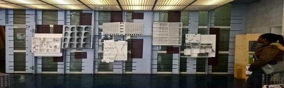 exhibit atrio Gianturco, facoltà di architettura